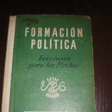 Libros de segunda mano - LIBRO, FORMACION POLITICA, SECCION FEMENINA, FALANGE. - 51054586