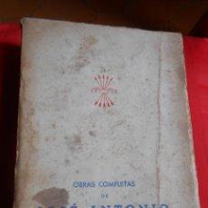 Gebrauchte Bücher - Obras Completas de JOSÉ ANTONIO PRIMO DE RIVERA -Editora Nacional 1942 - 51150931