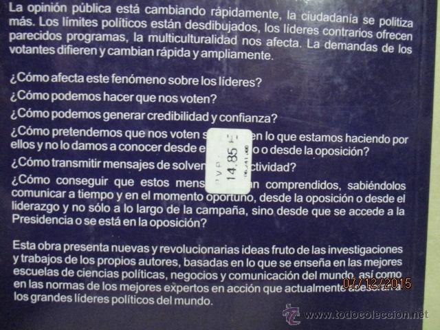 Libros de segunda mano: Gane usted las próximas elecciones: marketing político - Barquero Cabrero, José Daniel - Foto 7 - 53196347