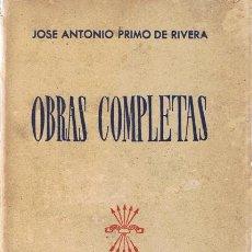 Gebrauchte Bücher - OBRAS COMPLETAS JOSE ANTONIO PRIMO DE RIVERA - 53350543