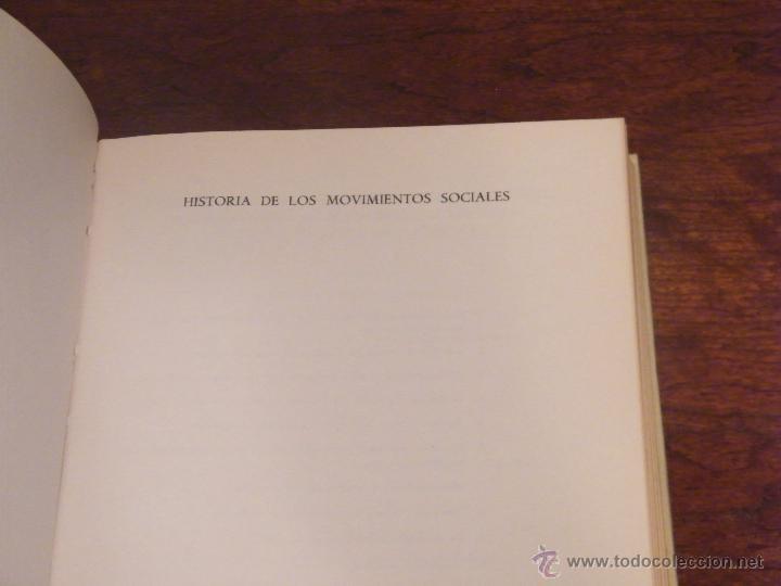 Libros de segunda mano: HISTORIA DE LOS MOVIMIENTOS SOCIALES - JUAN ROGER RIVIERE - CONFEDERACIÓN DE CAJAS DE AHORROS (1970) - Foto 3 - 54208938