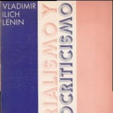 Libros de segunda mano - MATERIALISMO Y EMPIRIOCRITICISMO - Lenin, V.I. 1974 - 54683784
