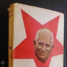 Libros de segunda mano: RONSENBERG MAURICIO KARL KRUSCHEV STALIN 1ª Y 2ª PARTE EDITORIAL N O S MADRID 1958. Lote 54763605