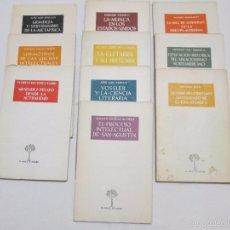 Libros de segunda mano: O CRECE O MUERE - VARIOS - 1954/55/65 (LOTE DE 10 VOLUMENES NOS. 69,76,81,83,84,91,93,95,100,183). Lote 55346716