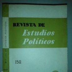 Libros de segunda mano - REVISTA DE ESTUDIOS POLÍTICOS 152 MARZO ABRIL 1967 INSTITUTO DE ESTUDIOS POLÍTICOS - 55695706