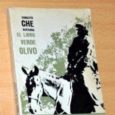 Libros de segunda mano: EL LIBRO VERDE OLIVO - DE ERNESTO ''CHE'' GUEVARA - EDITORIAL DIÓGENES (MÉXICO) - 1ª EDICIÓN - 1970. Lote 56009632