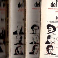 Libros de segunda mano: DEL TURIA / CASTELLAS / BERMUDO : TEMÁTICA DEL MARXISMO - 4 TOMOS (CINC D'OROS, 1977). Lote 56084496