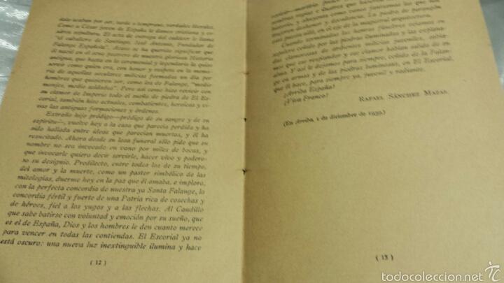 Libros de segunda mano: Josè Antonio Primo de Rivera- ESCRITOS . EDICIONES FE . 1940 - Foto 4 - 57139879