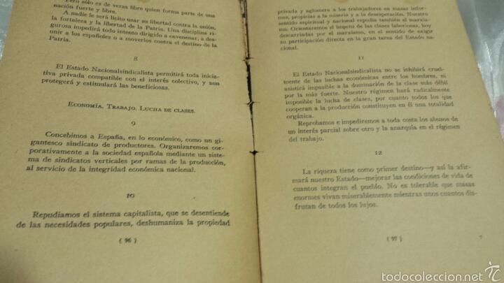 Libros de segunda mano: Josè Antonio Primo de Rivera- ESCRITOS . EDICIONES FE . 1940 - Foto 5 - 57139879