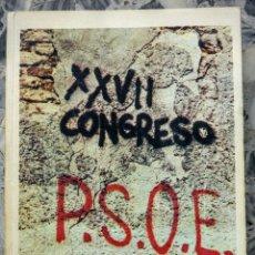 Gebrauchte Bücher - XXVII Congreso PSOE Libro 1977 - 57161453