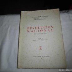Libros de segunda mano: REVOLUCION NACIONAL(PUNTOS DE FALANGE)TEXTOS DE JOSE ANTONIO.EDICIONES PRENSA DEL MOVIMIENTO 1949. Lote 57398344
