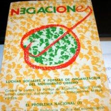 Libros de segunda mano: NEGACIONES N3 MAYO 1977. Lote 57429484