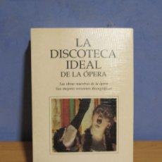 Libros de segunda mano: LA DISCOTECA IDEAL DE LA OPERA OBRAS MAESTRAS Y MEJORES VERSIONES DISCOGRAFICAS AÑO 1995. Lote 58017411