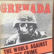 Libros de segunda mano: GRENADA THE WORLD AGAINST THE CRIME. Lote 58070746