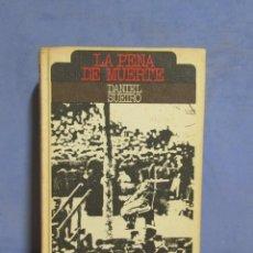Libros de segunda mano: DANIEL SUEIRO LA PENA DE MUERTE CIRCULO DE LECTORES AÑO 1975. Lote 58090304