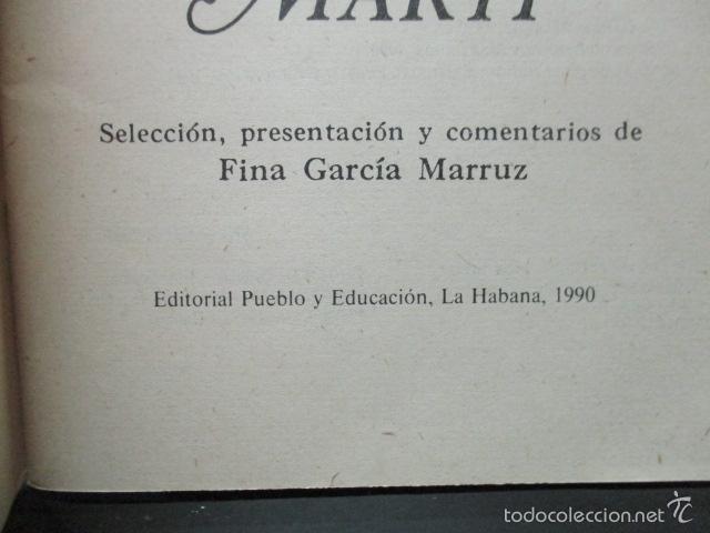 Libros de segunda mano: TEXTOS ANTIIMPERIALISTAS DE JOSÉ MARTÍ,MATERIALES DE ESTUDIO I, LA HABANA 1990 - Foto 3 - 58120807