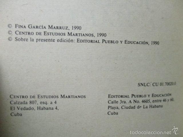 Libros de segunda mano: TEXTOS ANTIIMPERIALISTAS DE JOSÉ MARTÍ,MATERIALES DE ESTUDIO I, LA HABANA 1990 - Foto 4 - 58120807