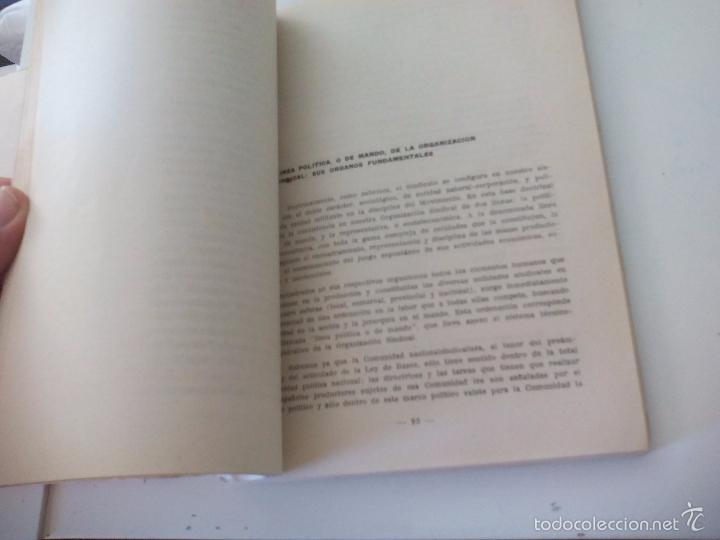 Libros de segunda mano: La organización sindical Española. Escuela sindical 1961 - Foto 3 - 58479402