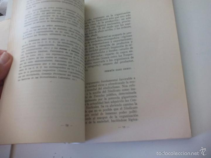Libros de segunda mano: La organización sindical Española. Escuela sindical 1961 - Foto 4 - 58479402