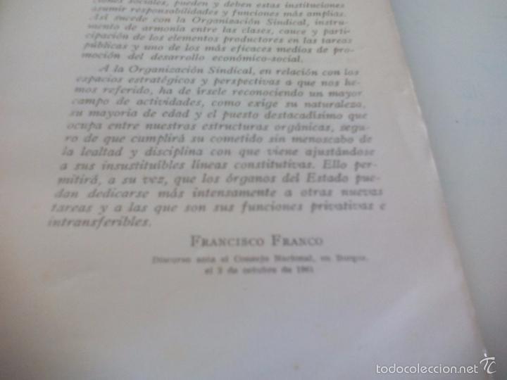 Libros de segunda mano: La organización sindical Española. Escuela sindical 1961 - Foto 6 - 58479402