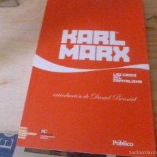 Libros de segunda mano: LA CRISIS DEL CAPITALISMO. INTRODUCCION DE DANIEL BENSAID KARL MARX EDITORIAL: PUBLICO BIBLIOTECA. Lote 58638734