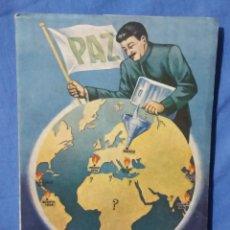 Libros de segunda mano: MÁSCARAS EL COMUNISMO ENTRE BASTIDORES - 1954 - CARTAS A UN OBRERO - JUAN CARRASCAL - RARO. Lote 58645046
