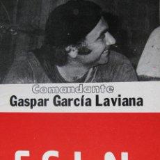Libros de segunda mano: LOTE PUBLICACIONES F.S.L.N. COMANDANTE GASPAR GARCÍA LAVIANA. AUGUSTO CESAR SANDINO. ETC.. Lote 60198339