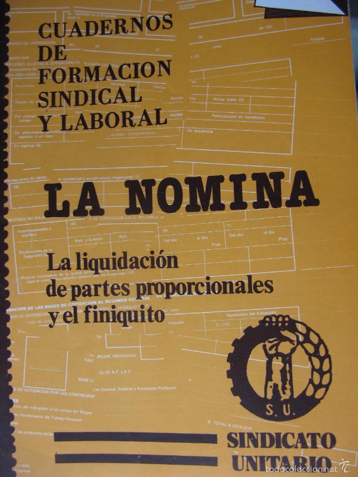 Libros de segunda mano: LOTE DE PUBLICACIONES DE SU (SINDICATO UNITARIO).1977 A 78. VER DETALLE. - Foto 11 - 60247375