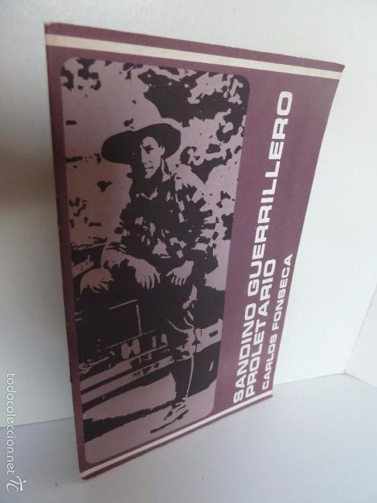 SANDINO GUERRILLERO PROLETARIO (CARLOS FONSECA). SERIE PENSAMIENTO SANDINISTA 4. FSLN (Libros de Segunda Mano - Pensamiento - Política)
