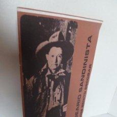 Libros de segunda mano - IDEARIO SANDINISTA (JOSÉ BENITO ESCOBAR). SERIE PENSAMIENTO SANDINISTA 2. FSLN - 60252899