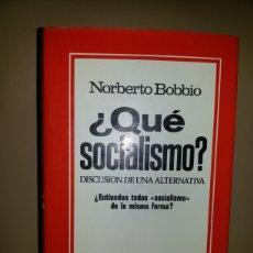 Libros de segunda mano: ¿QUE SOCIALISMO? / PRIMERA EDICION MAYO 1977. Lote 62450598