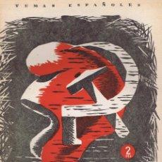 Libros de segunda mano: SEVILLA ANDRÉS, DIEGO. DE LA REPUBLICA AL COMUNISMO I. MADRID: PUBLICACIONES ESPAÑOLAS, 1954. 17X24.. Lote 63928191