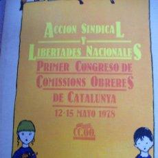Libros de segunda mano: ACCION SINDICAL Y LIBERTADES NACIONALES. AÑO 1978. Lote 64598471