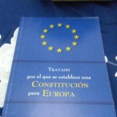 Libros de segunda mano: TRATADO POR EL QUE SE ESTABLECE UNA CONSTITUCIÓN PARA EUROPA. EST24B3. Lote 64972247