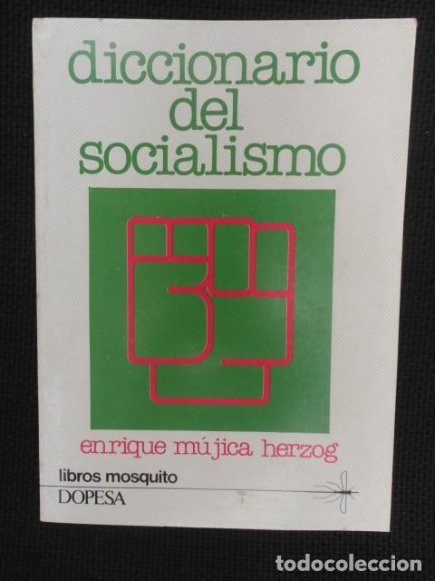 DICCIONARIO DEL SOCIALISMO - 1.977 - NUEVO (Libros de Segunda Mano - Pensamiento - Política)
