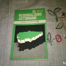 Libros de segunda mano: EL REGIONALISMO ASTURIANO, PEDRO DE SILVA,. Lote 66827814