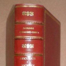 Libros de segunda mano: FERNANDEZ-CUESTA, RAIMUNDO: INTEMPERIE, VICTORIA Y SERVICIO. DISCURSOS Y ESCRITOS. 1951. Lote 72113207