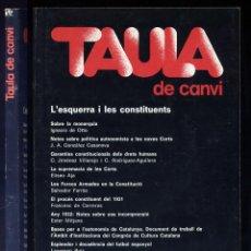 Libros de segunda mano: L'ESQUERRA I LES CONSTITUENTS. TEXTOS DE J.A. GONZÁLEZ CASANOVA, CARLOS JIMÉNEZ VILLAREJO... 1977.. Lote 74546391