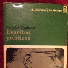 Libros de segunda mano: LIBRO,-ESCRITOS POLITICOS. Lote 75263538