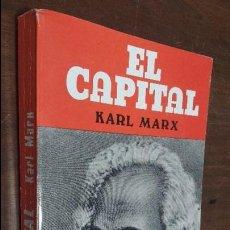 Libros de segunda mano: EL CAPITAL KARL MARX, CARLOS MARX. Lote 78009817