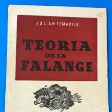 Libros de segunda mano: TEORIA FALANGE. Lote 79141485