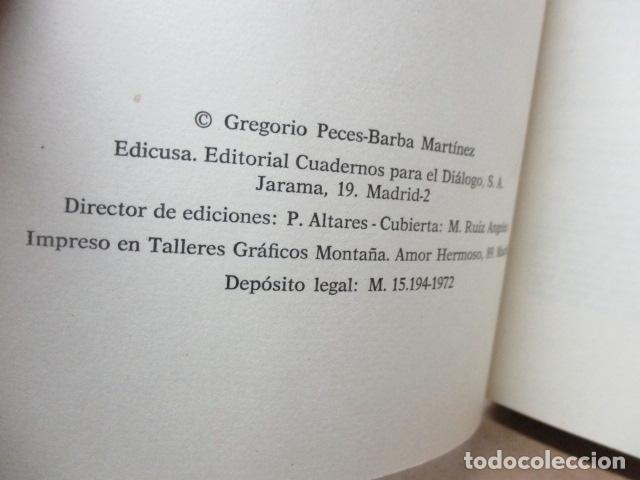 Libros de segunda mano: Persona, sociedad y estado, pensamiento social y político de Maritain, Gregorio Peces Barba - Foto 4 - 82056044