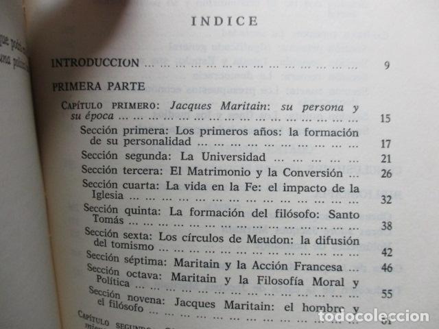 Libros de segunda mano: Persona, sociedad y estado, pensamiento social y político de Maritain, Gregorio Peces Barba - Foto 6 - 82056044