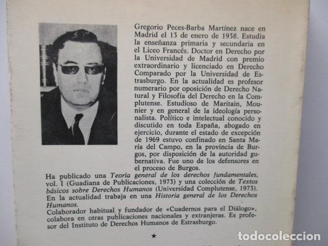 Libros de segunda mano: Persona, sociedad y estado, pensamiento social y político de Maritain, Gregorio Peces Barba - Foto 11 - 82056044