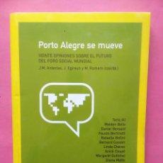 Libros de segunda mano: PORTO ALEGRE SE MUEVE VVAA 2003 CATARATA. Lote 82434024