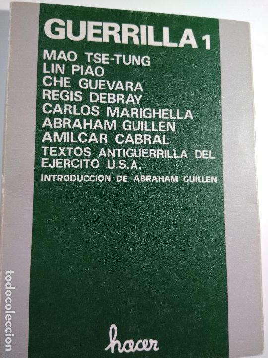 GUERRILLA 1. MAO TSE - TUNG, LIN PIAO, CHE GUEVARA, Y OTROS – ED HACER (Libros de Segunda Mano - Pensamiento - Política)