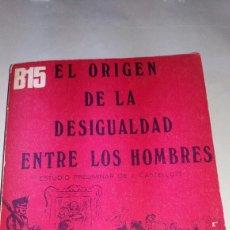 Libros de segunda mano: ANTIGUO LIBRO DE 1972