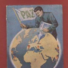 Libros de segunda mano: MASCARAS EL COMUNISMO ENTRE BASTIDORES POR JUAN CARRASCAL 245 PAGS EDIT. SAL TERRAE AÑO 1954 LE1825. Lote 85013856