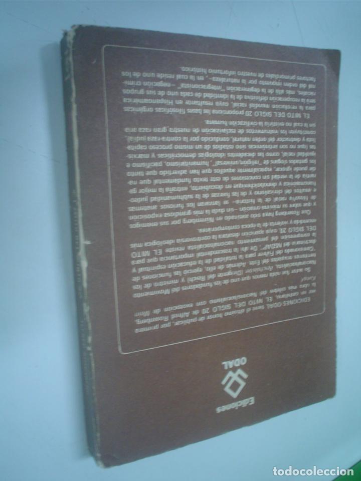 Libros de segunda mano: Alfred Rosenberg: EL MITO DEL SIGLO 20. Una valoración de las luchas anímico-espirituales - Foto 2 - 24042931