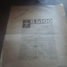 Libros de segunda mano: EL FASCIO. EDICIÓN FACSÍMIL NUMERADA PATROCINADA POR JOSÉ LUIS JEREZ Y JAVIER ONRUBIA. REF. UR EST. Lote 209306715